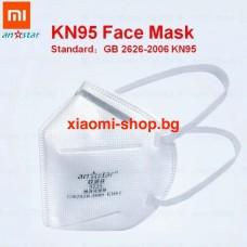 Висококачествена маска XIAOMI Anstar КN95 FFP 2 многократна
